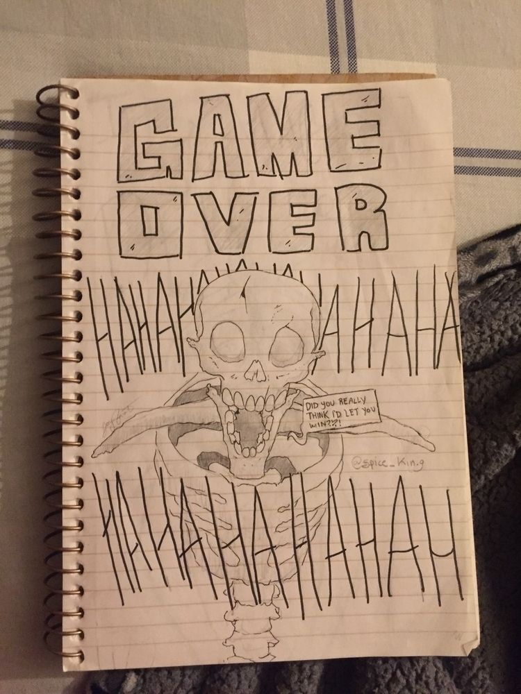 Game win - art, comics, sketch, skeletons - akidnamedj | ello
