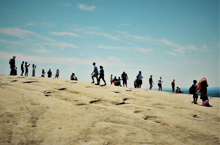 Summit - landscape, people, mountaintop - drewsview74   ello