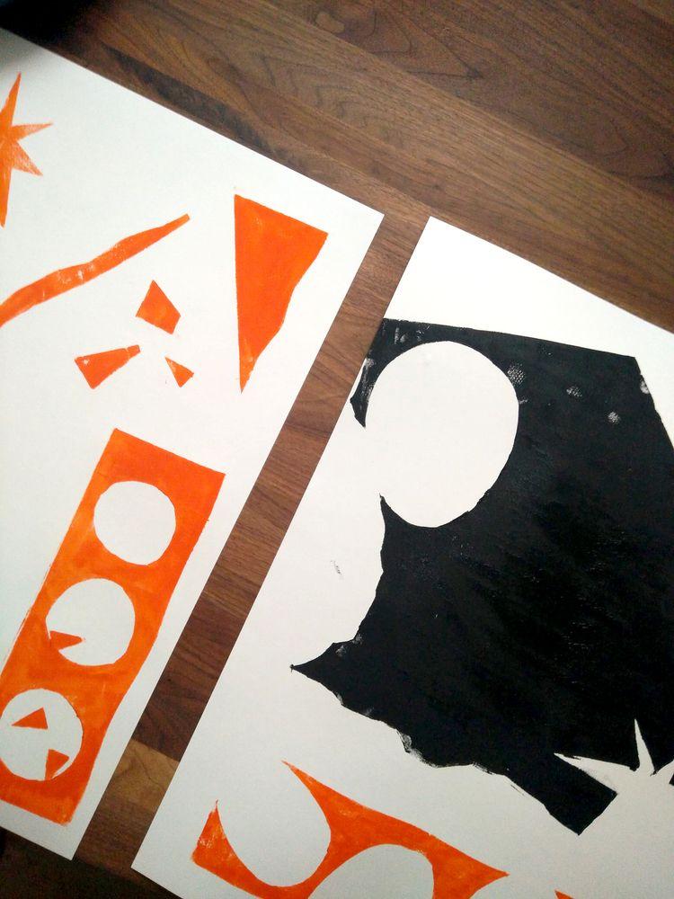 stencil art experiments. A2 - p - skrewstudio | ello