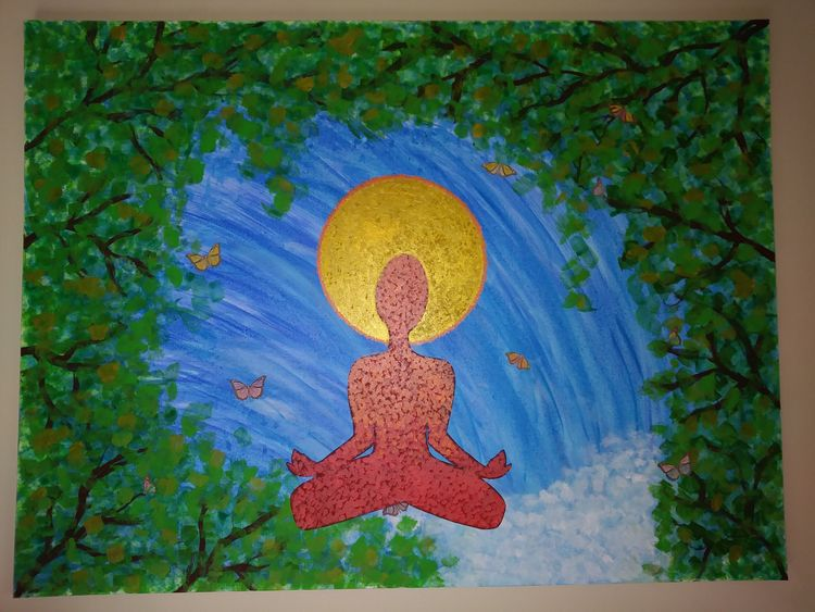 Zen Acrylic Canvas - jaewra   ello