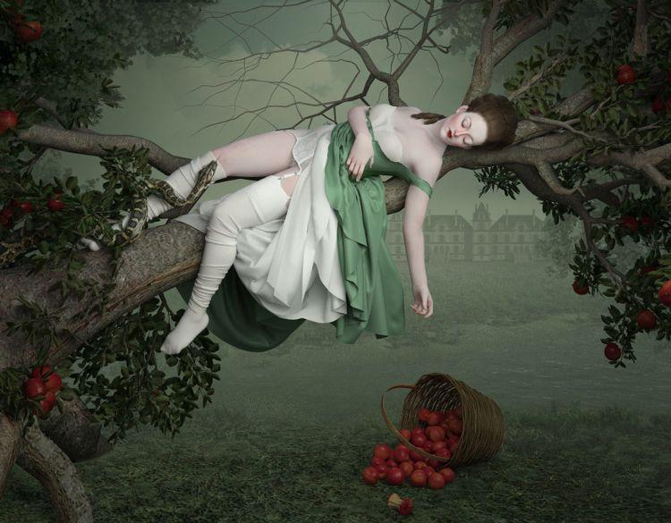 Poison Tree - popsurrealism, lowbrow - nathaliasuellen | ello