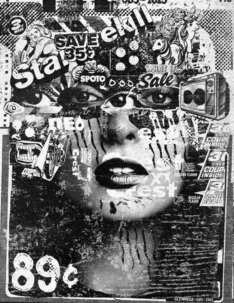collage, collageart, photocopy - prentler | ello