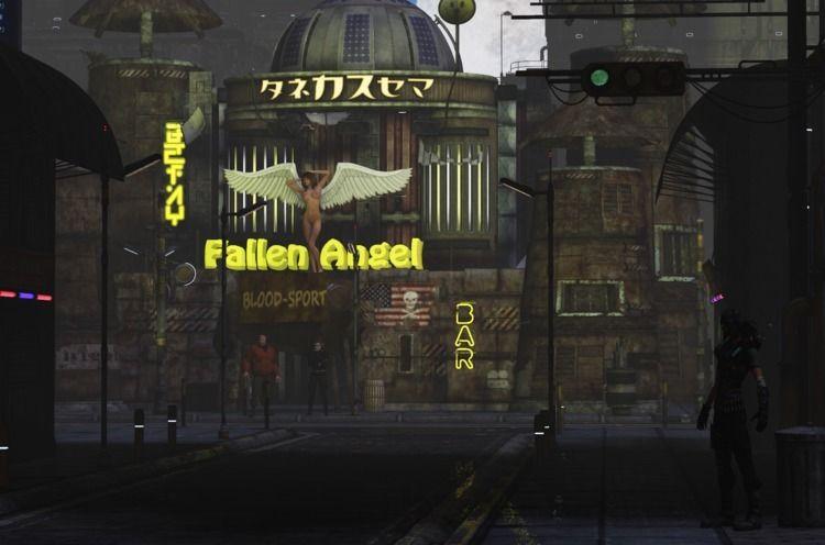 Fallen Angel nightclub Cynosure - cirroccojones | ello