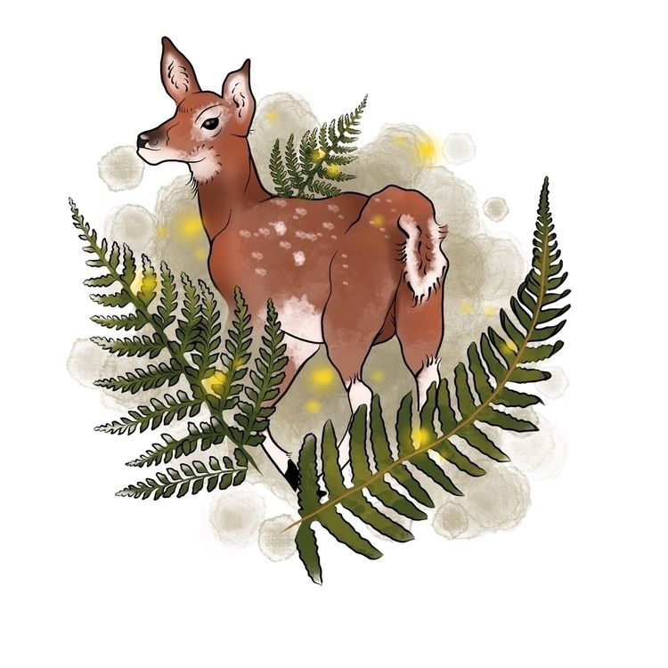 lil forest spirit • usual, lot  - scarletchild | ello