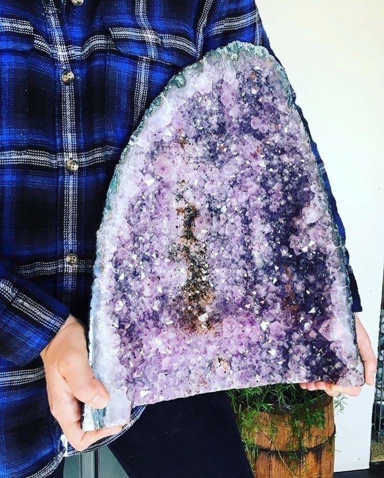 24lb amethyst crystal - crystals - mermaidtearshawaii | ello