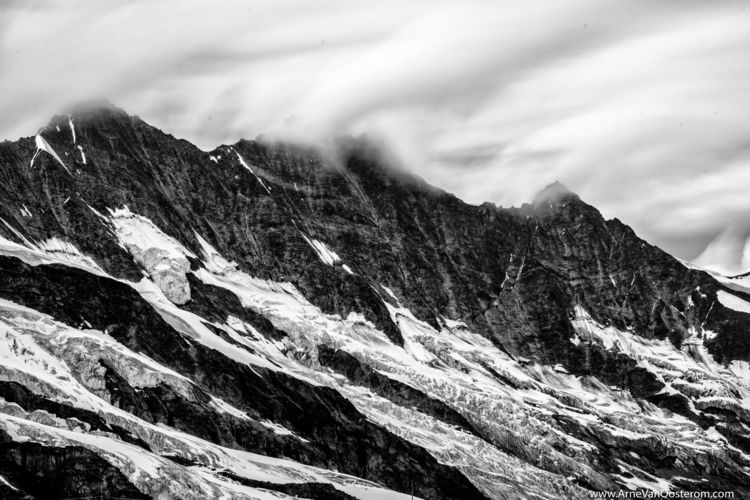 Saas-Fee Switzerland - blackandwhitephotography - arnevanoosterom | ello