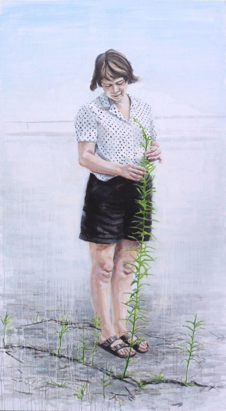 Emily, 200x115cm, oil canvas, 2 - rutavm | ello