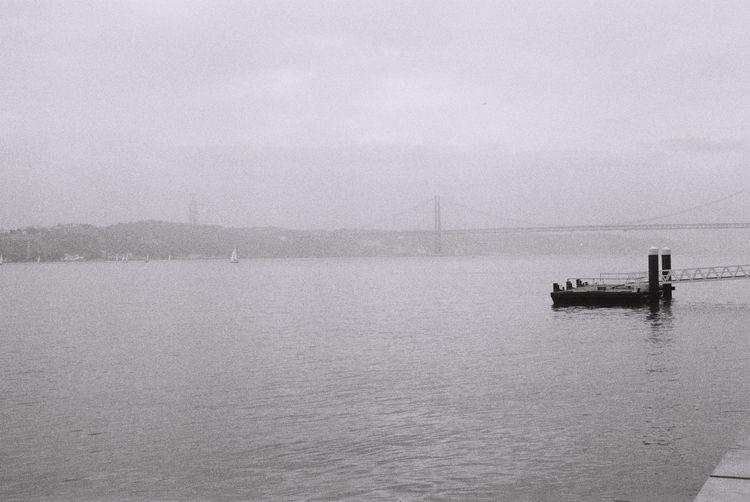 Foggy Tagus 〜 Lisbon, Portugal - ferreira-rocks | ello