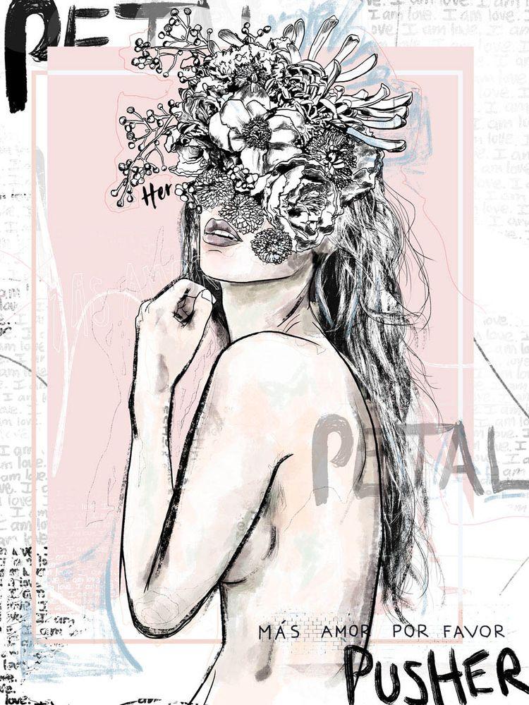 Petal Pusher - kashka_rae | ello