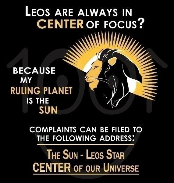 Leo Zodiac Sign | center univer - 1001smiles | ello