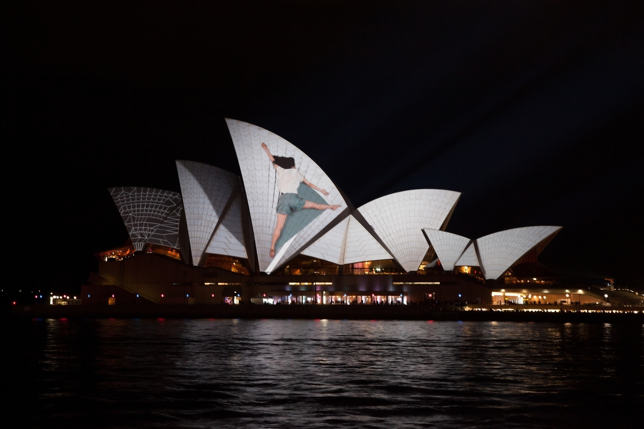 Sydney Opera House - Light Proj - sernboey | ello