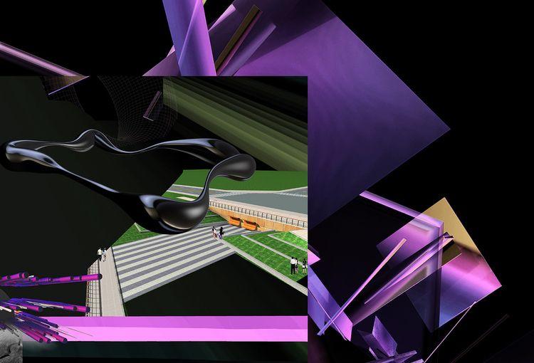 4 sided black hole illustrated  - jamesdawe | ello