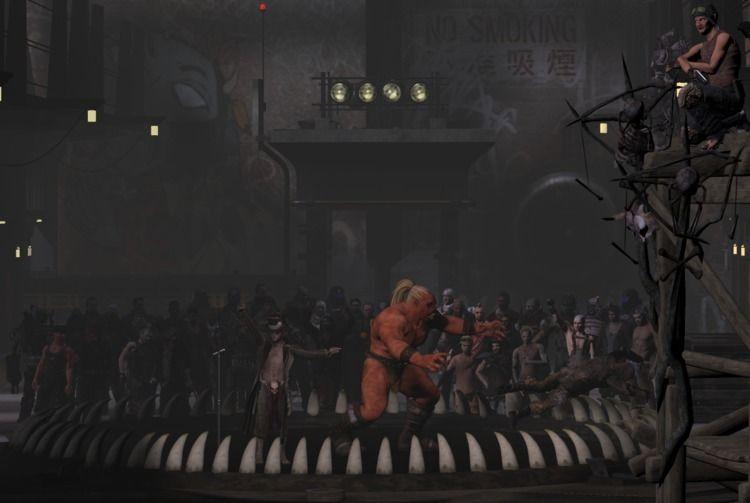 Blood Sport fighting pits Falle - cirroccojones   ello