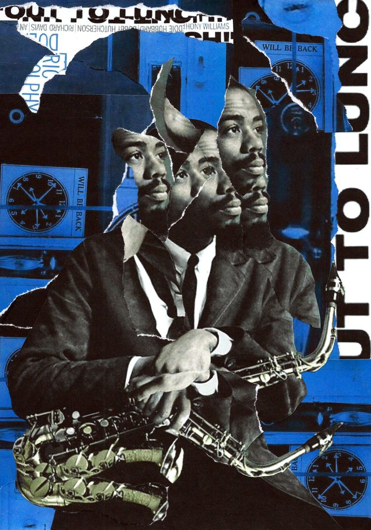 Lunch - collage, dada, popart, music - graemejukes | ello