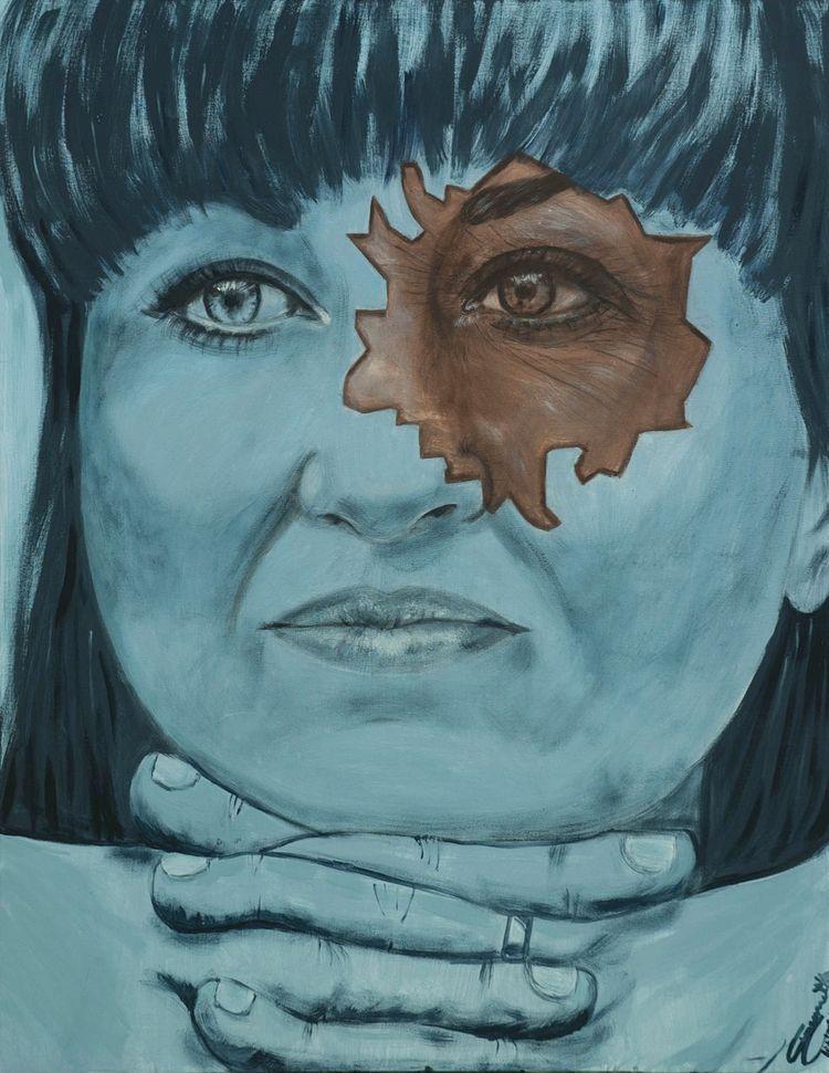 Acrylic canvas 80x100 cm title  - tizianagiammetta | ello