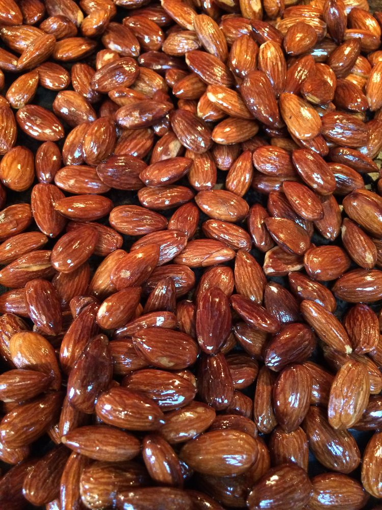 Almonds-Roasted - food, snack, nuts - leif_kurth | ello