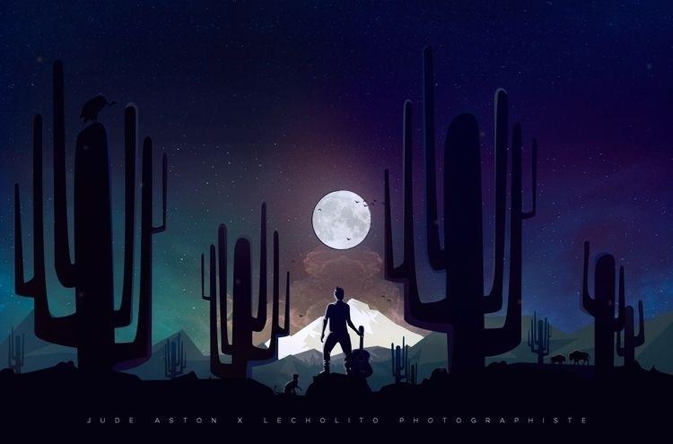 Singing Moon - Portrait de Jude - lecholito | ello