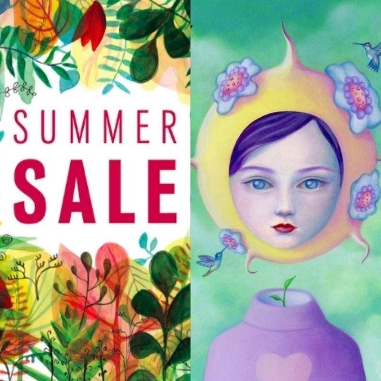 Summer hotter Big Art Sale Cact - carolinaseth | ello