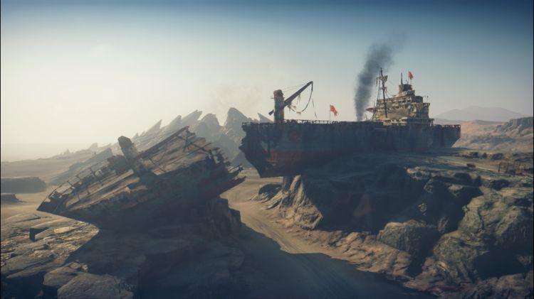 Wreck beached cargo ship, Mad M - cirroccojones | ello