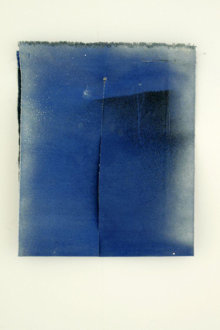 35 42 cm, 2015, paint cut canva - giellouws | ello