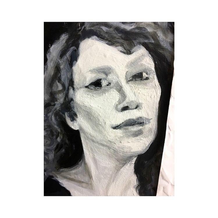 portfolio, portrait, wip, paint - yuliavirko | ello
