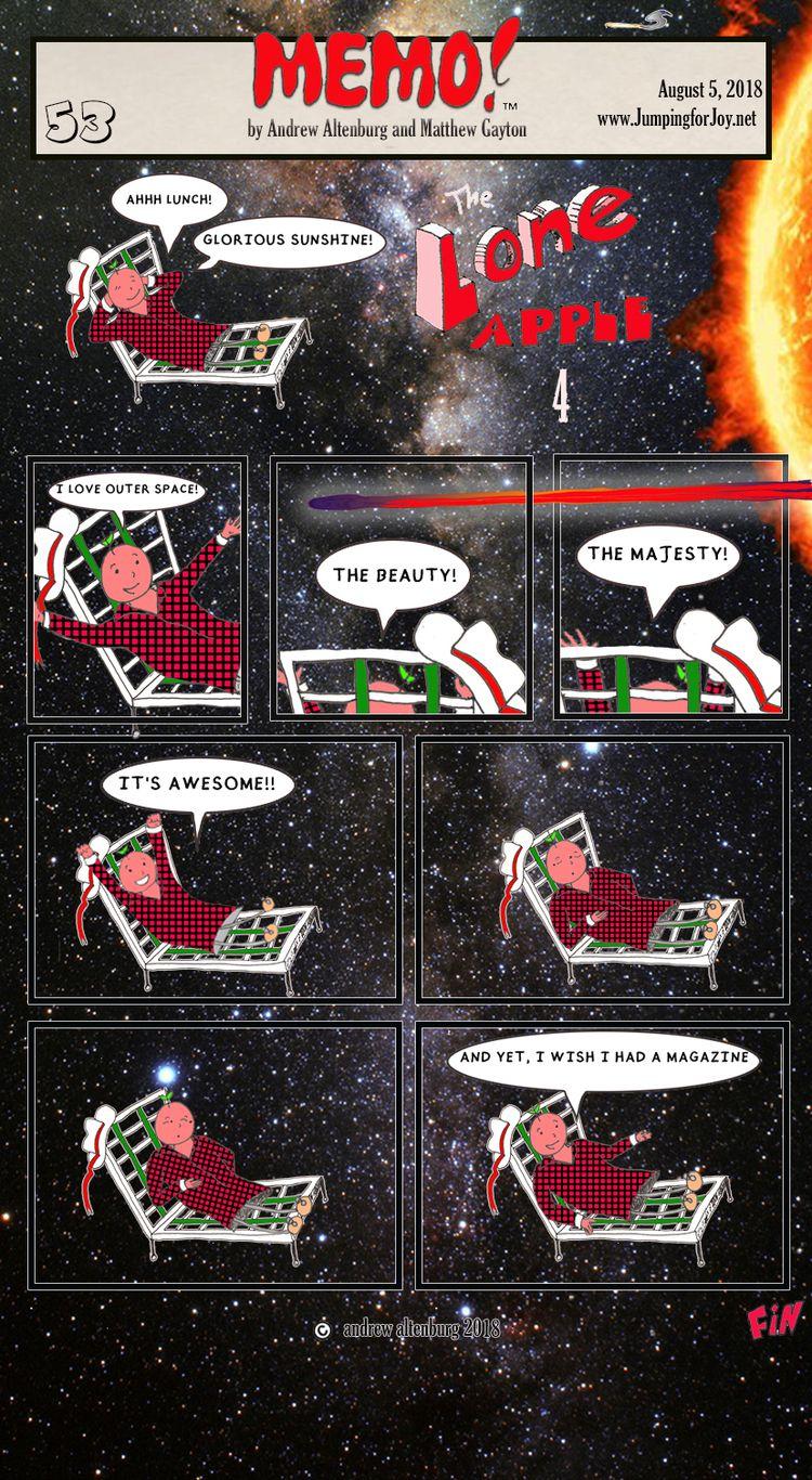 MEMO 53 - webcomic,, cartoon,, comicstrip, - andrewaltenburg | ello
