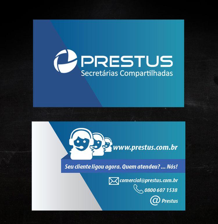 Cartão de Visita Prestus modelo - cristianbastos | ello