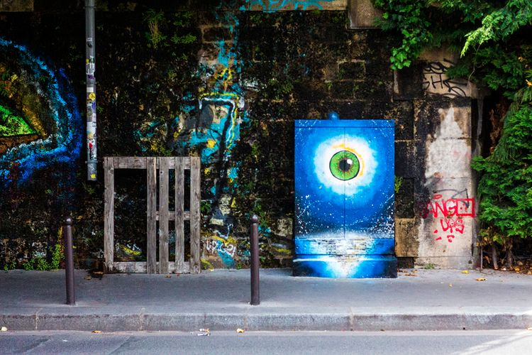 Paris, juin 2018 - EyeSeeYou, LaVillette - pierrotechnique | ello
