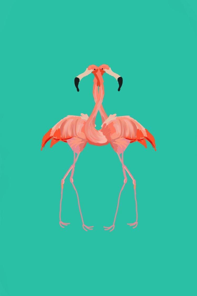 Flamingo tango - taylxur | ello