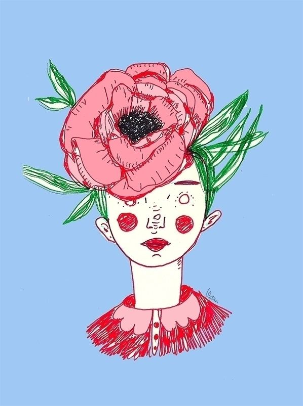 illustration, flowerpower, ello - valerush | ello