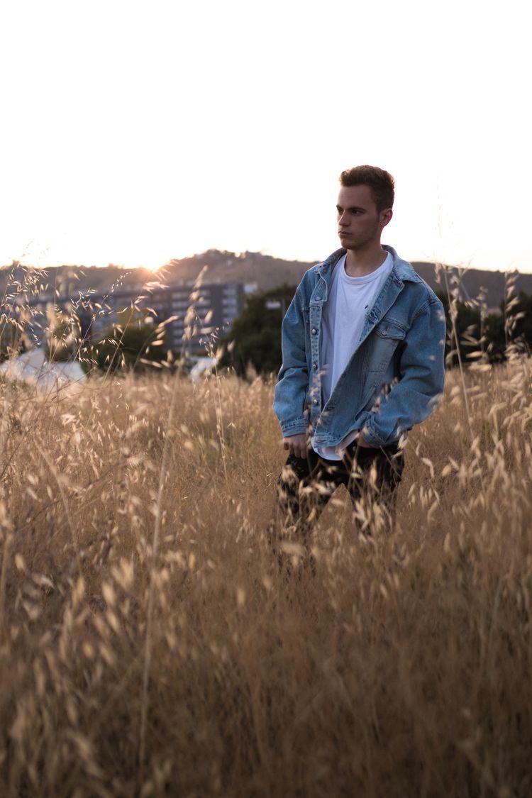 Summer-sunset jean jacket cool  - davisual | ello