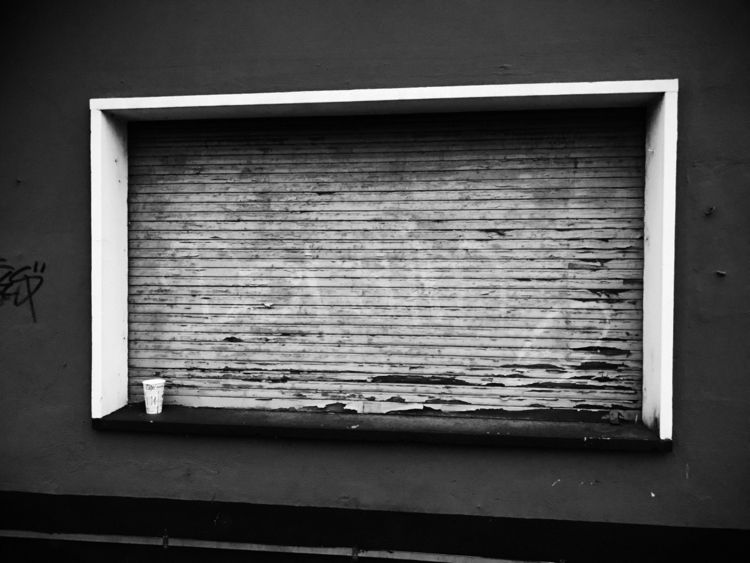 • Closed shutter - photography, blackandwhitephotography - borisholtz | ello