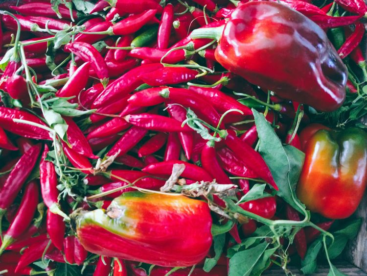 Hot flavors - chilipeppers, hot - fedodes | ello