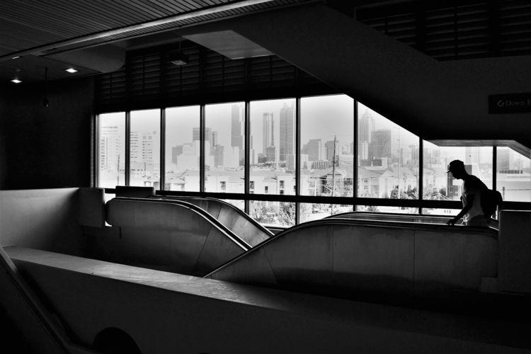 King Station - architecture, blackandwhite - drewsview74   ello