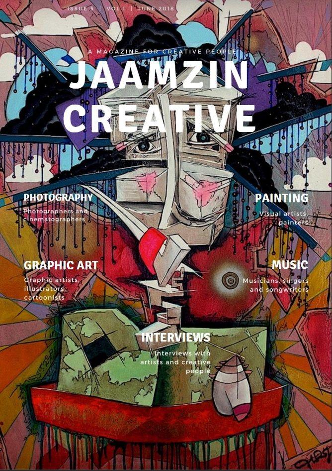 JaamZIN Creative magazine June  - jaamzin | ello