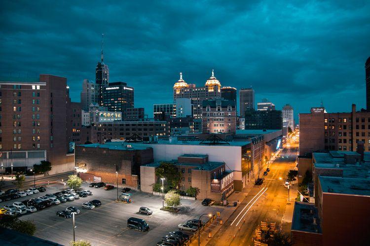 Buffalo, York - rooftop, longexposure - mbstuart | ello
