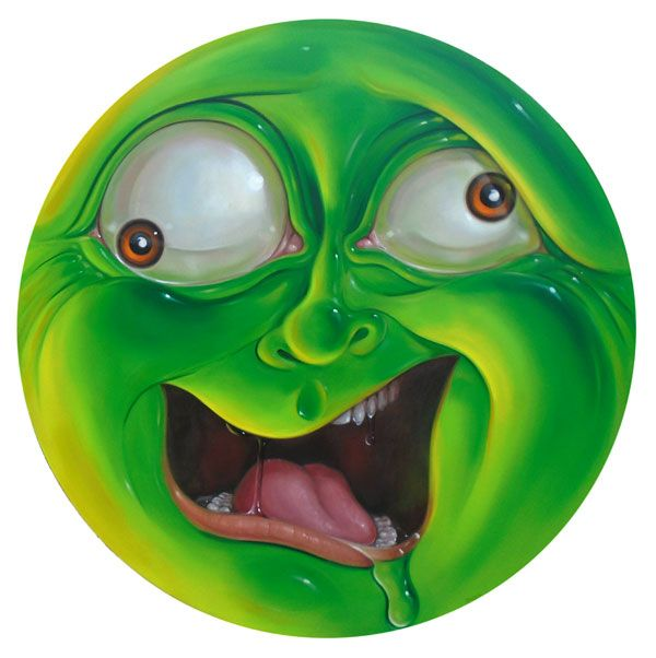 Crazy Green Circle, Stephen Gib - sgibb | ello