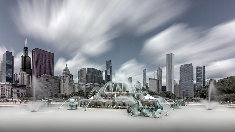 Buckingham Fountain, Chicago - chicago - johnkosmopoulos | ello