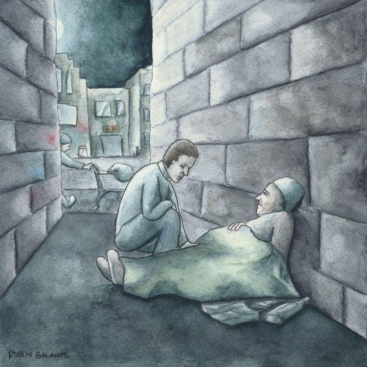 Night scary time privileged lie - robingalante | ello