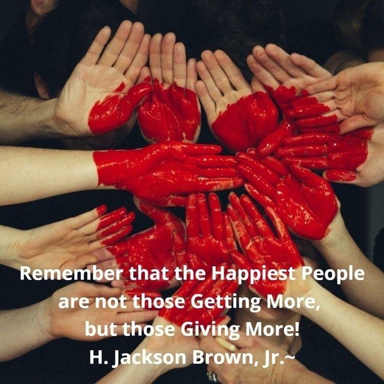 Remember Happiest People Giving - dare2bare | ello