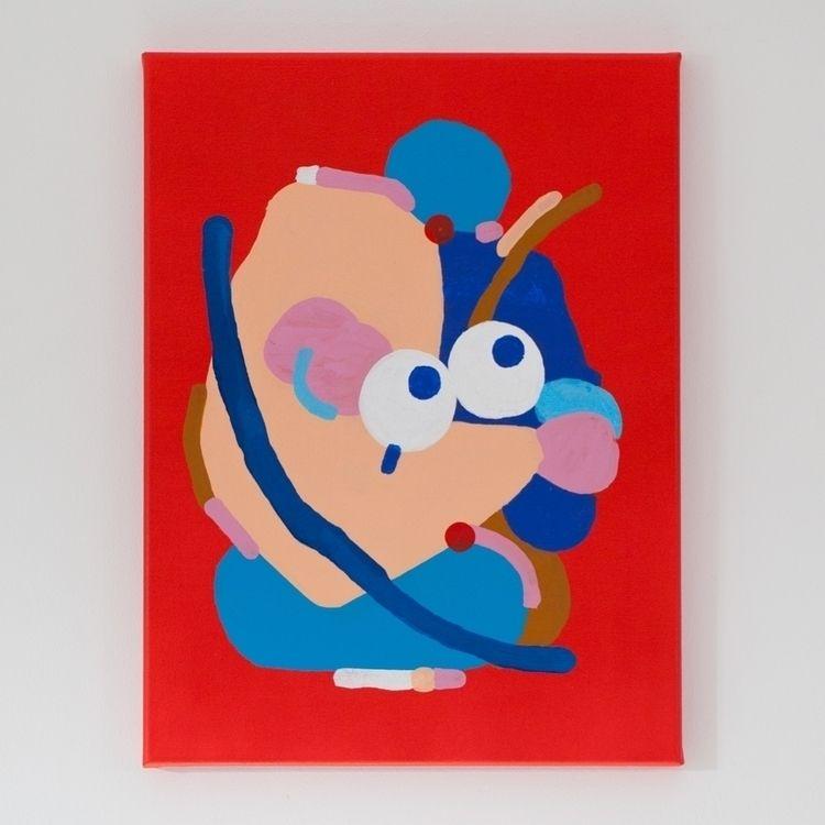 painting, character, canvase - davidluepschen | ello