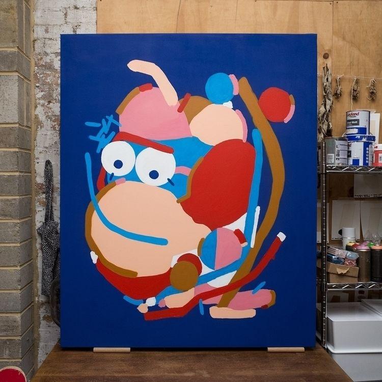 painting, character, canvase - davidluepschen   ello