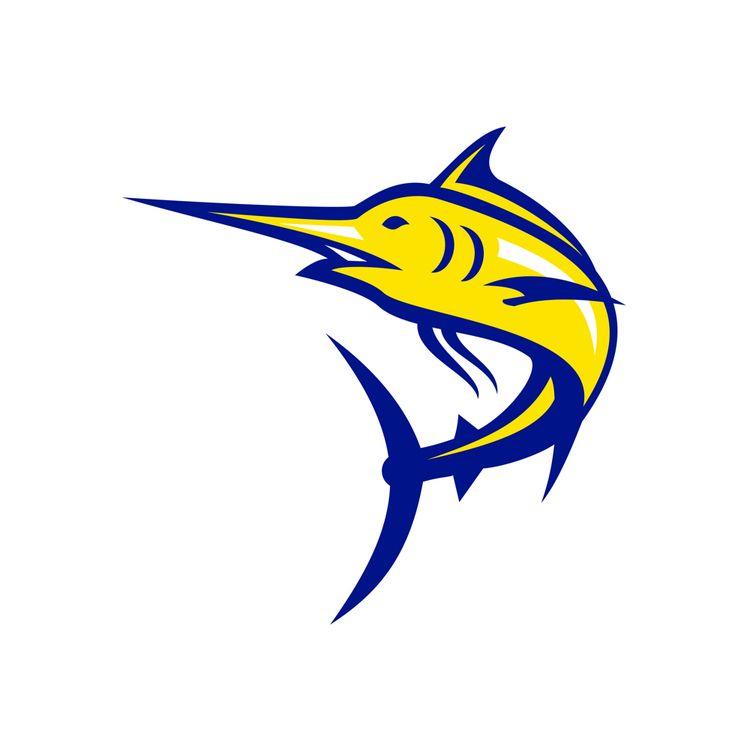 Blue Marlin Jumping Mascot - BlueMarlin - patrimonio | ello