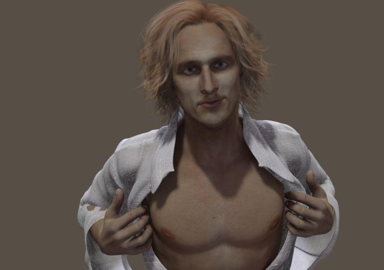 3D rendition Mathew McConaughey - cirroccojones | ello