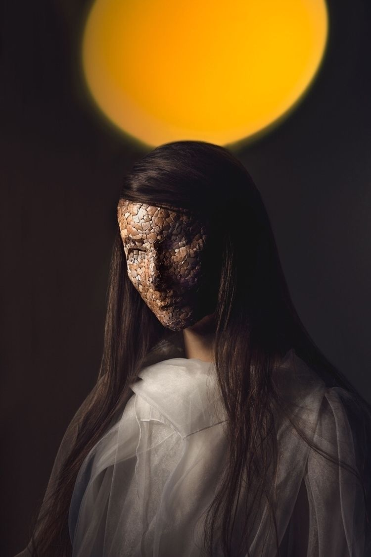 "Mask"" — Photographer: Julia Wim - darkbeautymag   ello"
