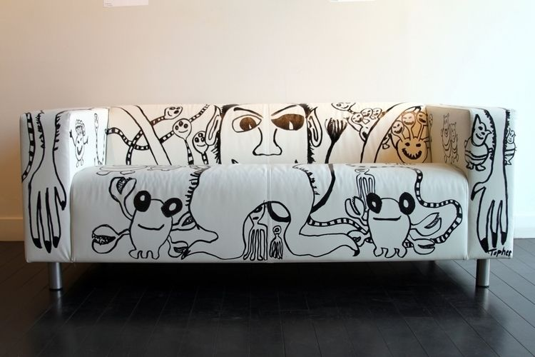 Monster Sofa Topher Straus Pain - bitfactory | ello