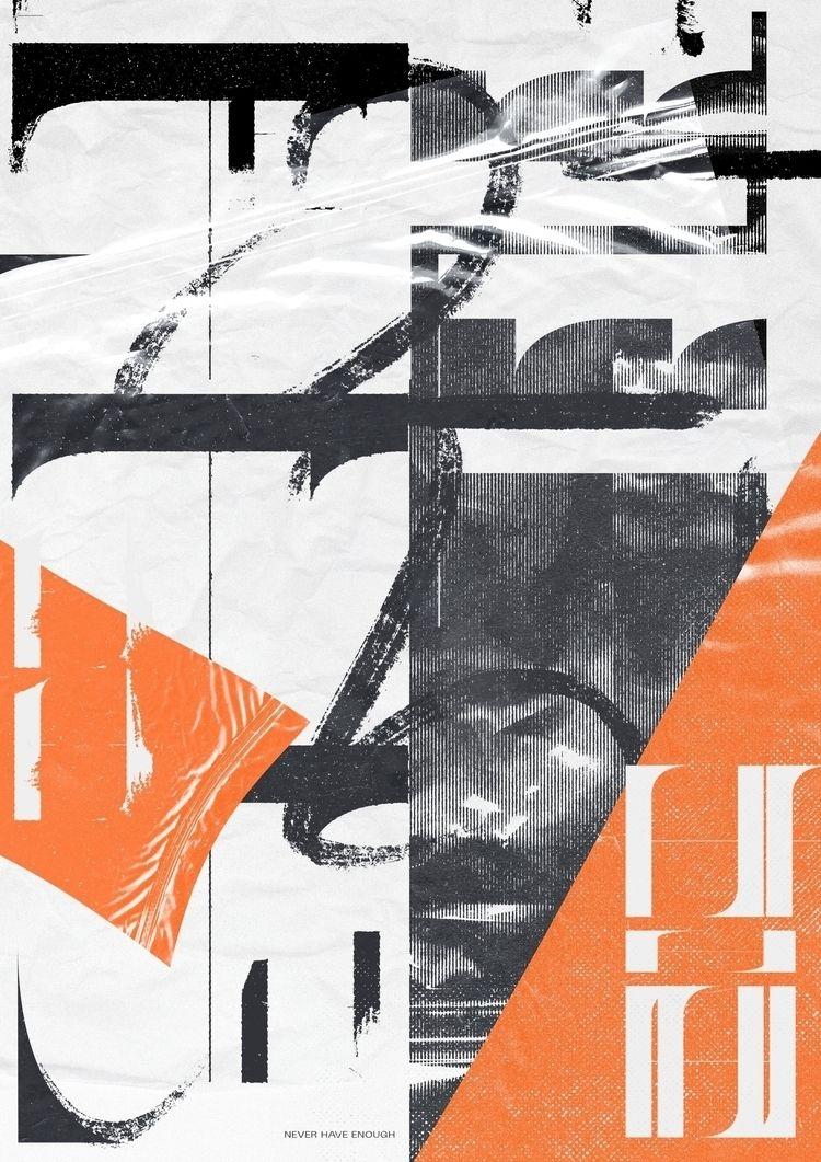 design, typography, texture - adamho | ello