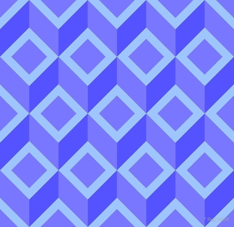 Geometric Pattern: Diamond Chev - red_wolf | ello