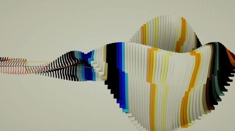 3d, mograph, tracer, design, designer - fliim | ello