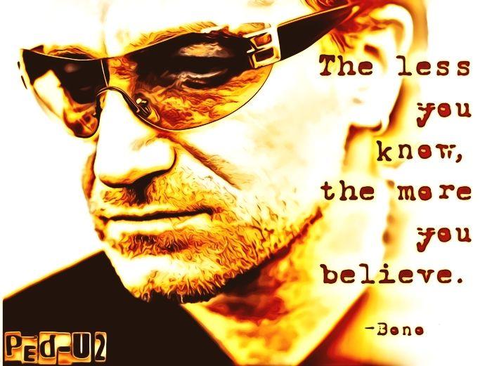 Bono U2 Arte: Peter - peterped | ello